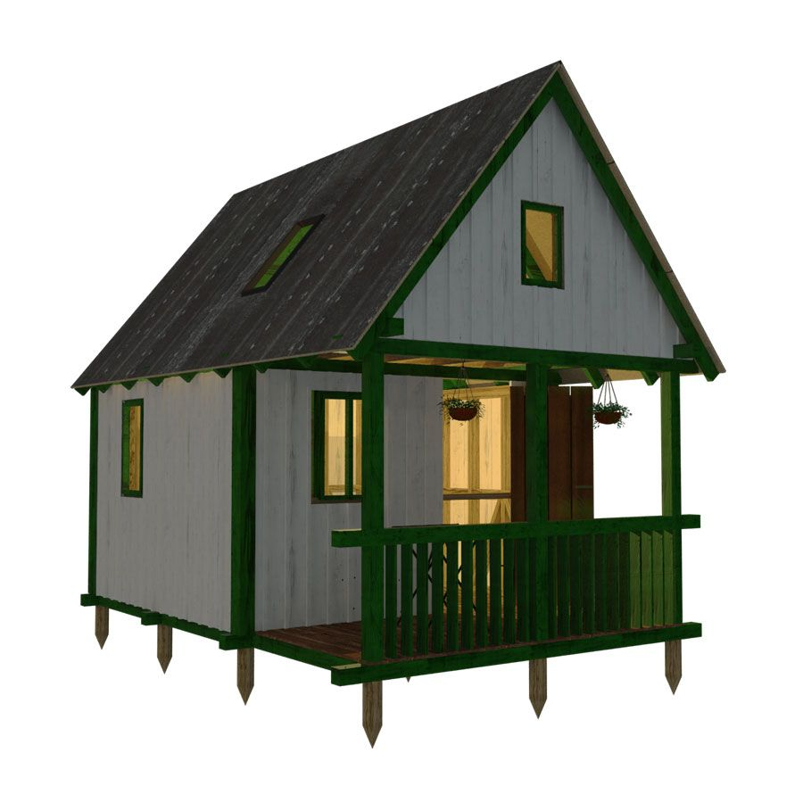 Small Cabin Design 16 X 24 Just Right For Two A Great Idea For A Small Cabin On The Mountain Beautif Small Cabin Designs Cabin Plans With Loft Small Cabin