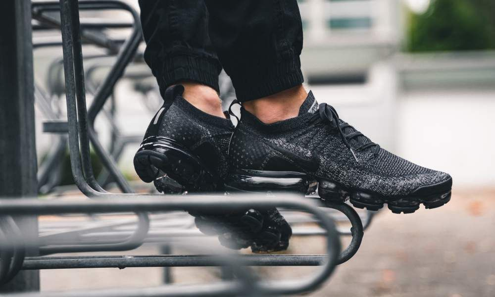 Nike Air Vapormax Flyknit 2 Black Grey 942842 012 Shoes