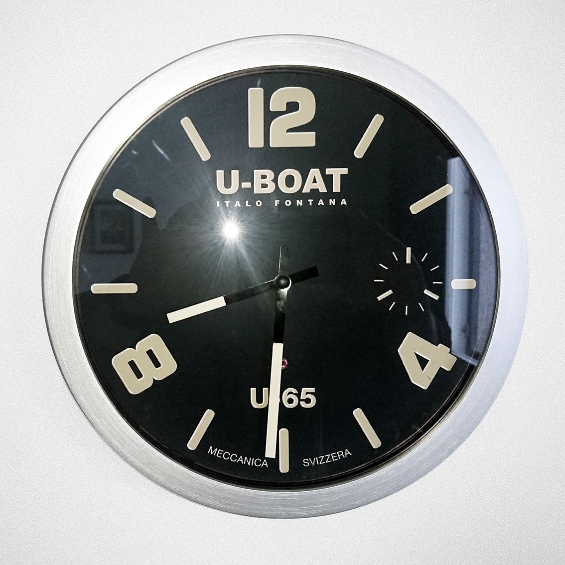 And Another Diy Project Ikea S Wall Clock With A U Boat Wrist Watch Look