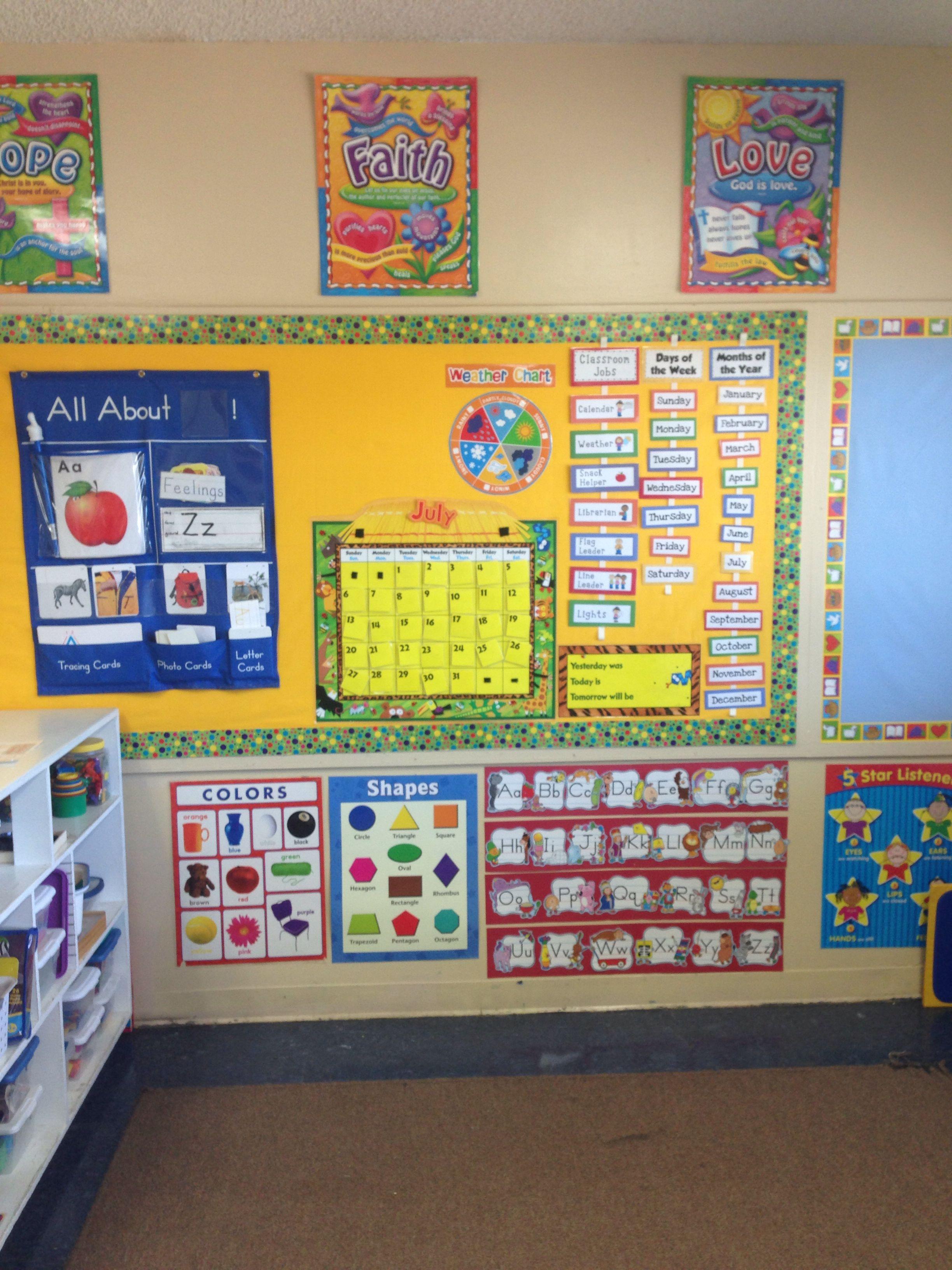 My Classroom Circle Time Board