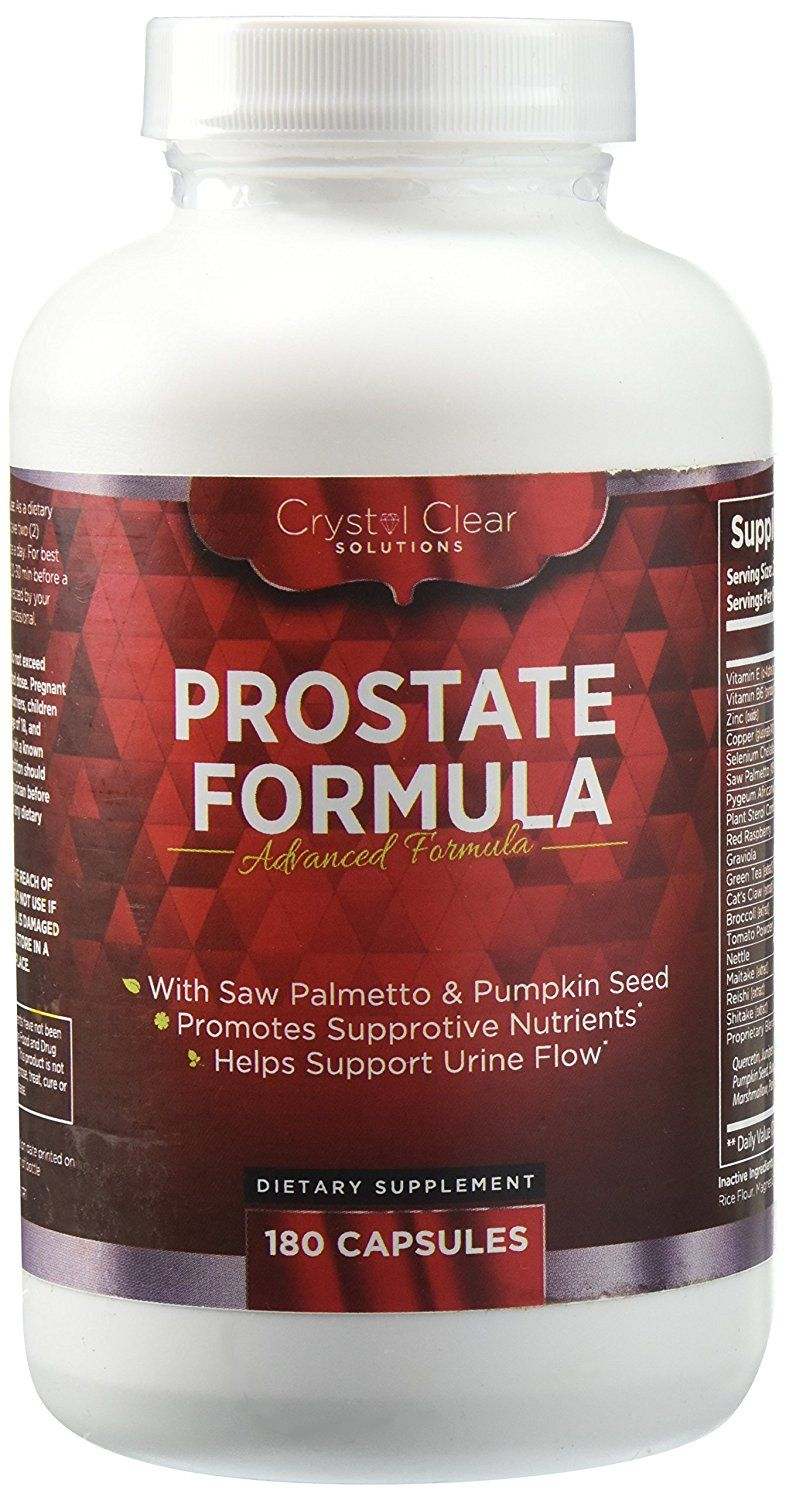 Saw Palmetto Capsule (180) Prostate Cleanse Supplement, Best