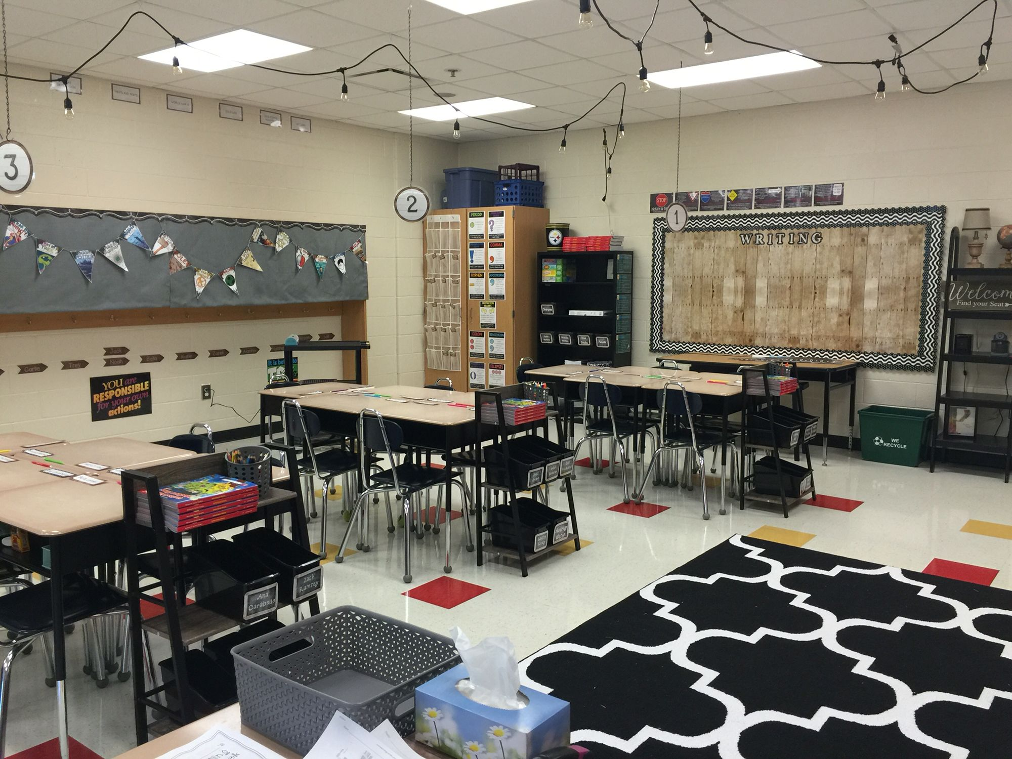 Industrial Chic Decorating Ideas Industrial Chic Classroom Theme Classroom Pinterest
