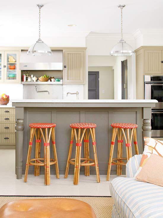 Colorful Kitchen Islands Kitchen Pinterest Decoração de casa