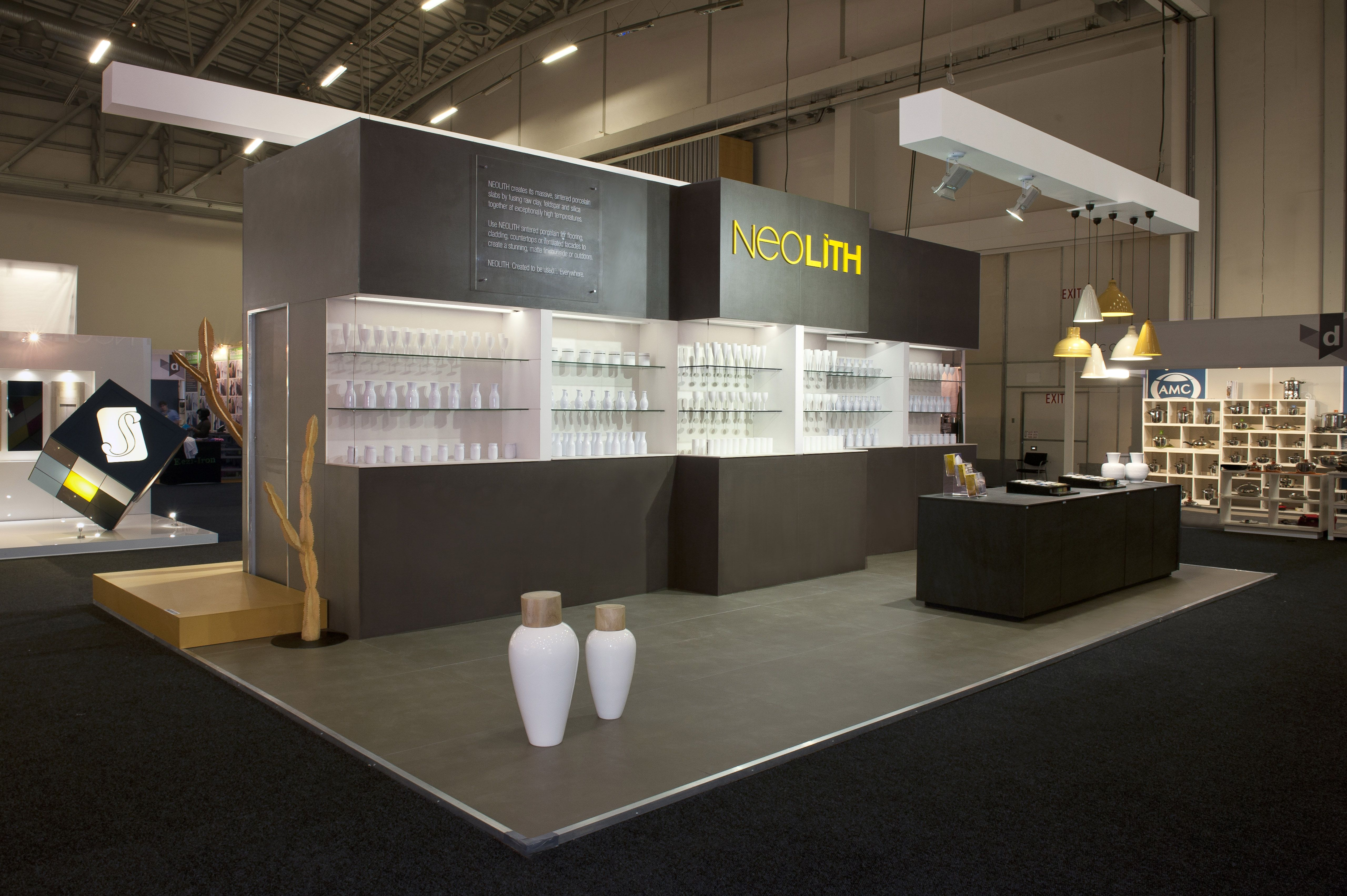 neolith on decorex 2014 exhibition design exhibition stand exhibition booth