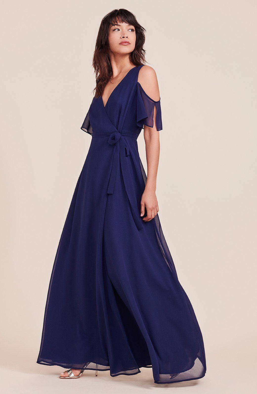 Cross my heart bridesmaid dress vintage blue xs bride tribe