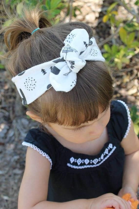 Bebe Black and White Cloth Headband Headpiece NEW