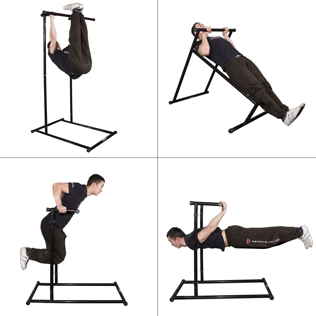 The Gravity Fitness Portable Bodyweight & Pull up Rack has