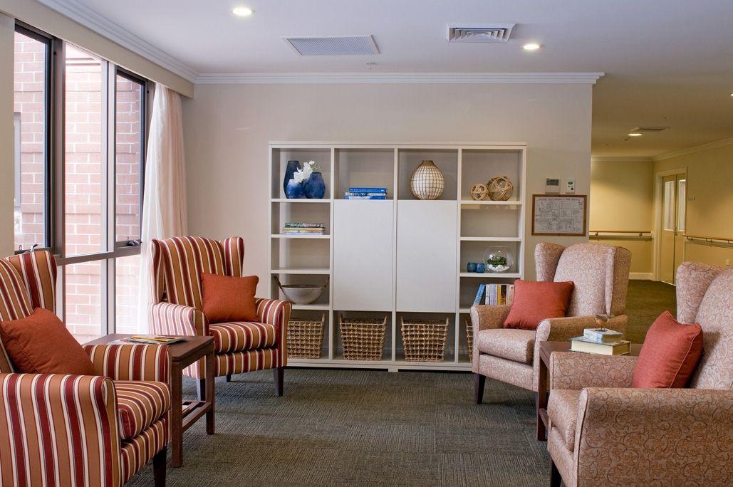 Nursing Home Sylvania Healthcare Furniture Aged Care Furniture Interiors Aged Care