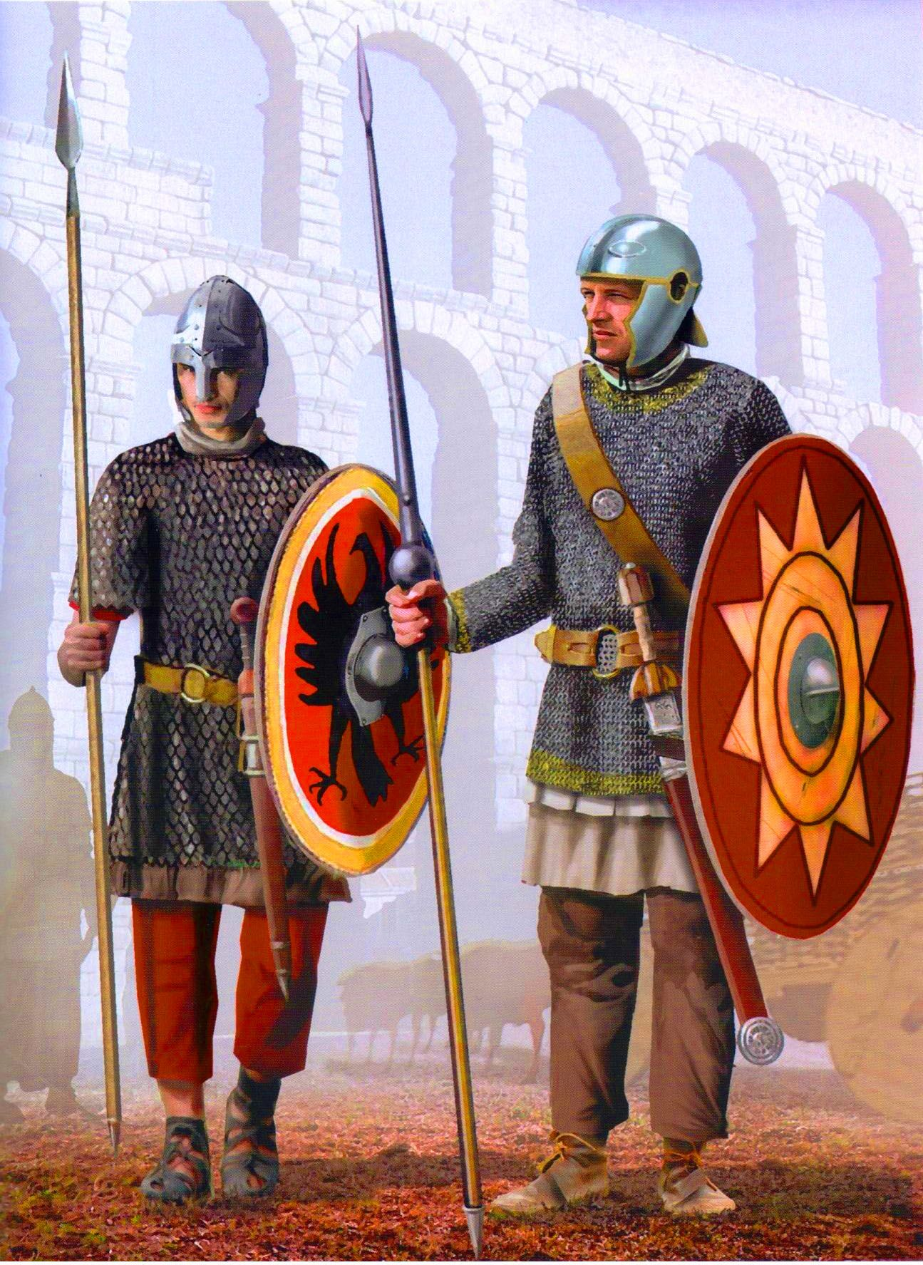 Late Roman Legionaries Fourth Century Ad