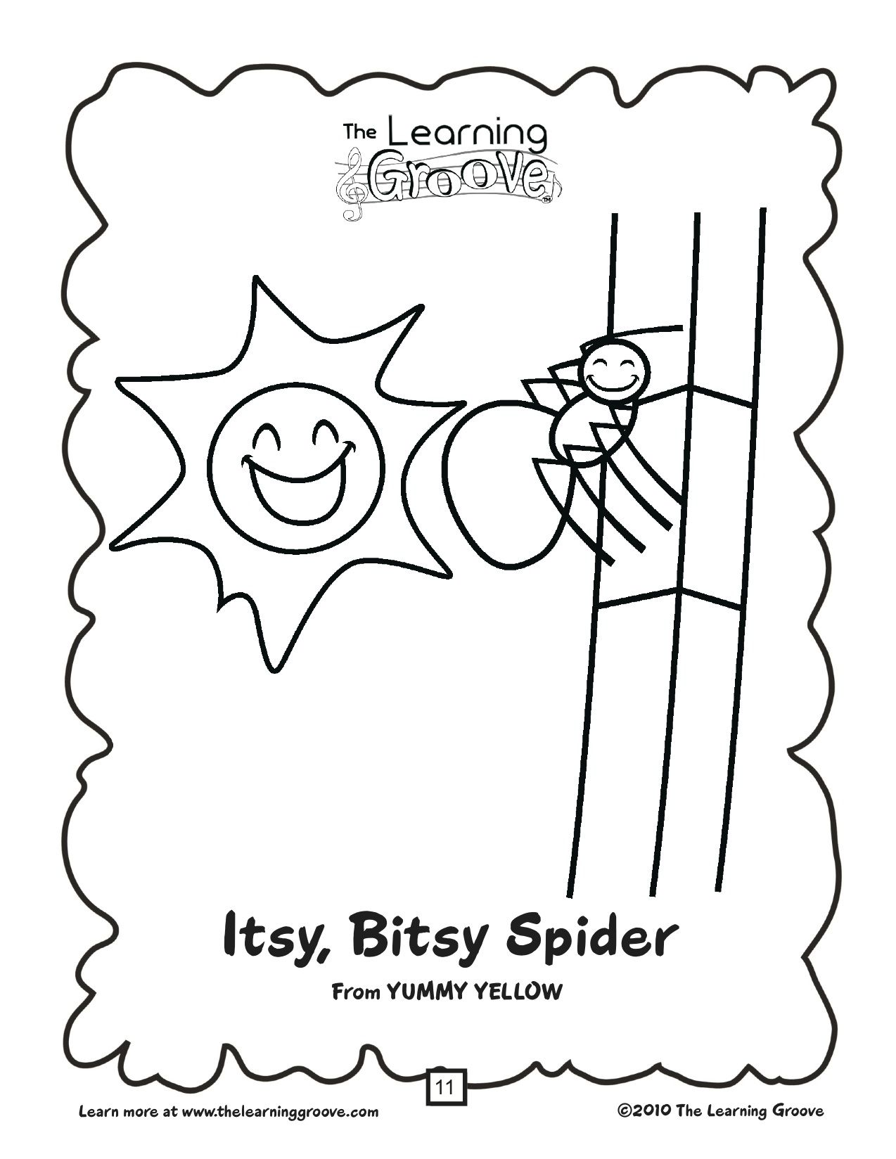 Did you ever wonder what happened to the Itsy Bitsy Spider after it ...