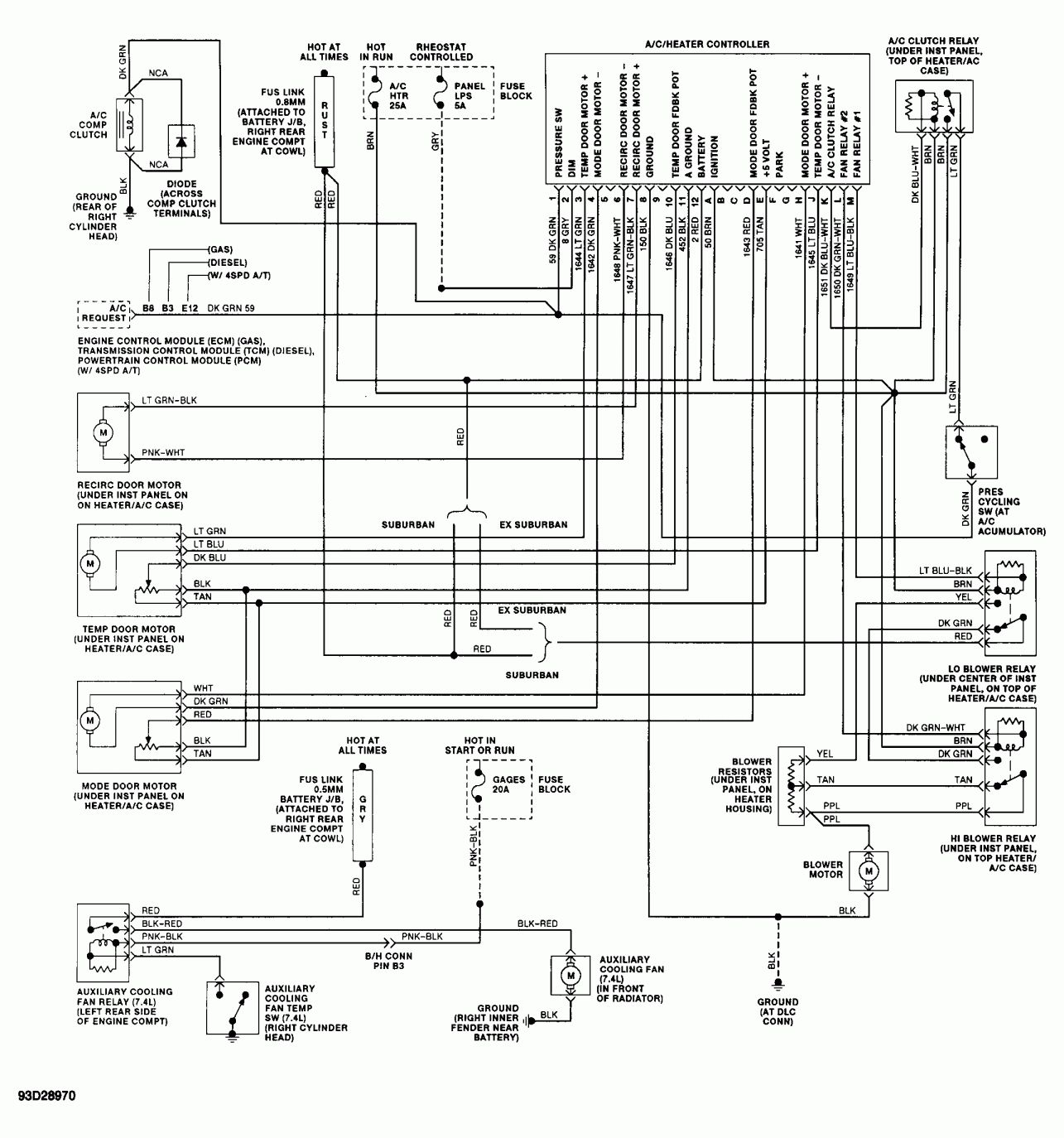 Chevy Truck Wiring Diagram And Wiring Diagram For