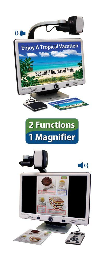DaVinci Pro HD/OCR Desktop Video Magnifier with Textto
