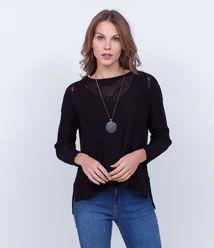 Blusas e Camisetas Femininas - Lojas Renner