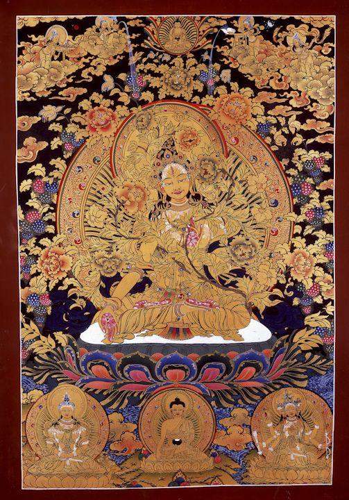 Traditional Tibetan Thangkas By Romio Shrestha Buddhist Art Tibetan Art Buddhism Art