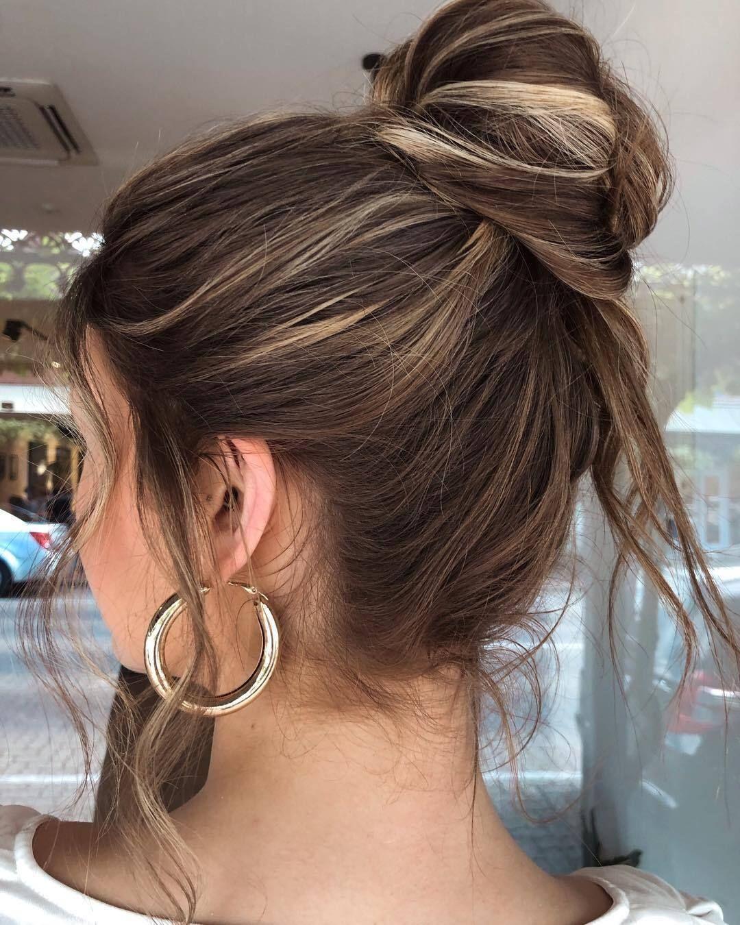 Une belle idée de coiffure lorsqu'il pleut et que c'est