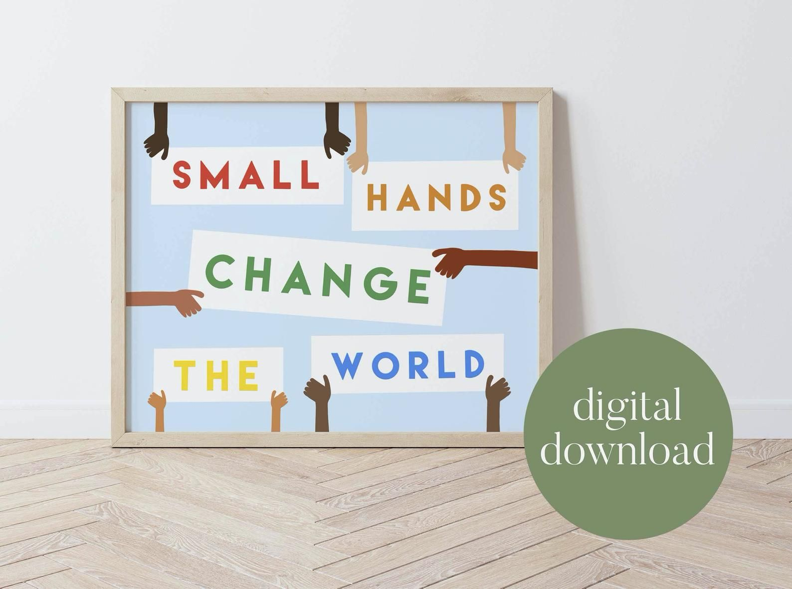 Change The World Diversity Wall Art Classroom Decor Kid Etsy Art Classroom Decor Classroom Decor Art Classroom