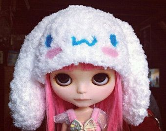 crochet hat for blythe by nubanded on Etsy