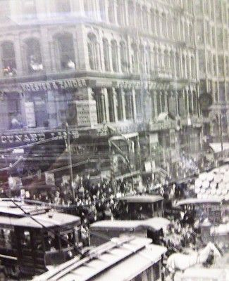 Rare historic photo. Downtown Chicago Illinois. Circa 1908… | Flickr