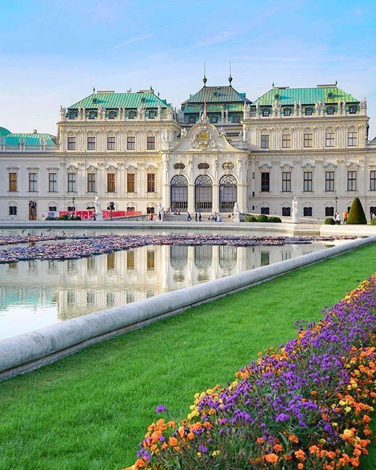 Belvedere Museum Vienna Beautiful Castles Travel
