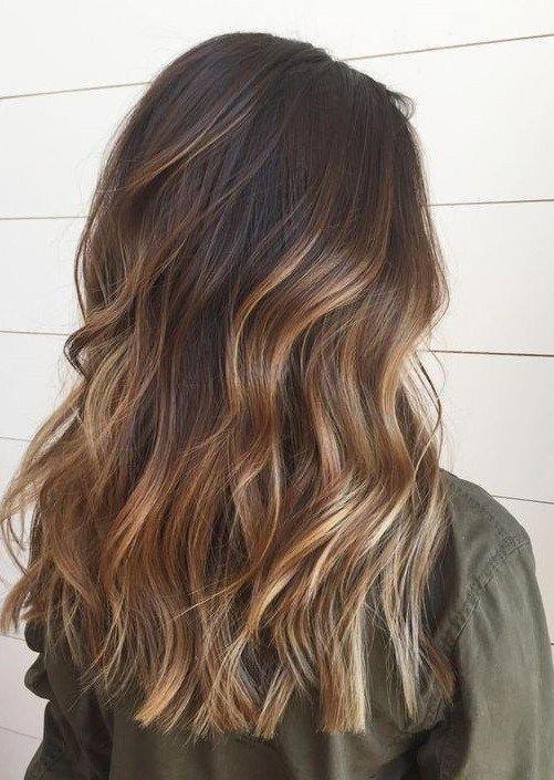Balayage Brown Hair Color Ideas for Women 2019 #brownhairbalayage #brownhaircolors
