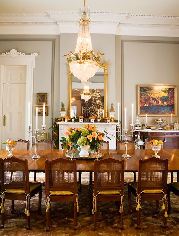 Dining Room Historic Home