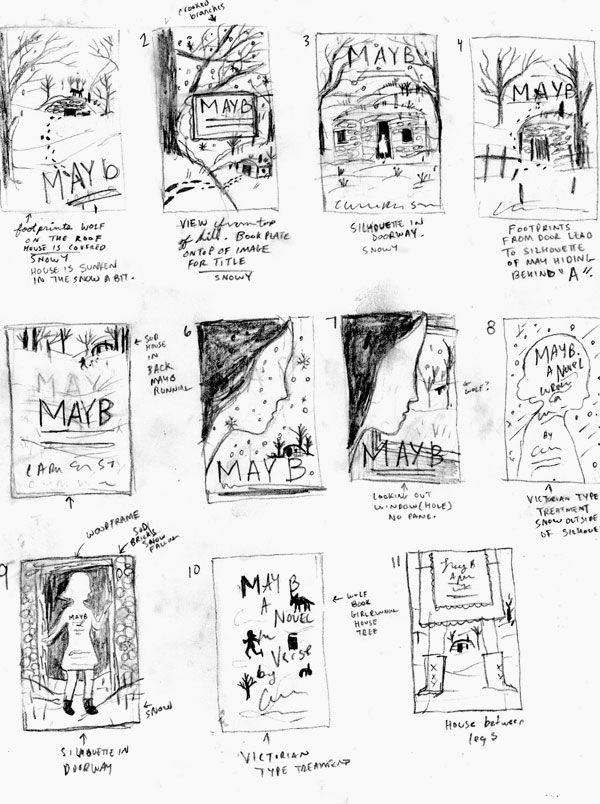 CS Neal On The Process Of Sketching A Book Cover  Artsy This