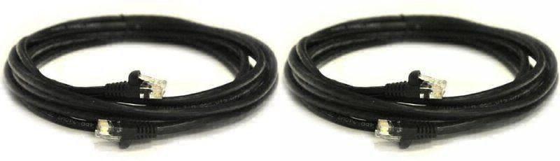 Premium 50m Cat6 Gigabit Copper Outdoor Ethernet Network Cable External Use Blac