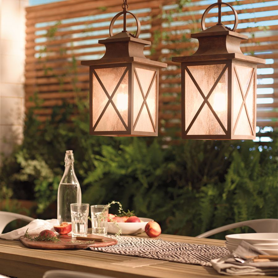 Shop kichler lighting haven 1717 in olde brick outdoor pendant shop kichler lighting haven 1717 in olde brick outdoor pendant light at lowes aloadofball Image collections