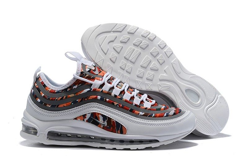 best website 1e7be adf73 Nike Air Max 97 UL 17 White Brown-Graffiti Men s New Style Resistant  Lightweight Sneakers