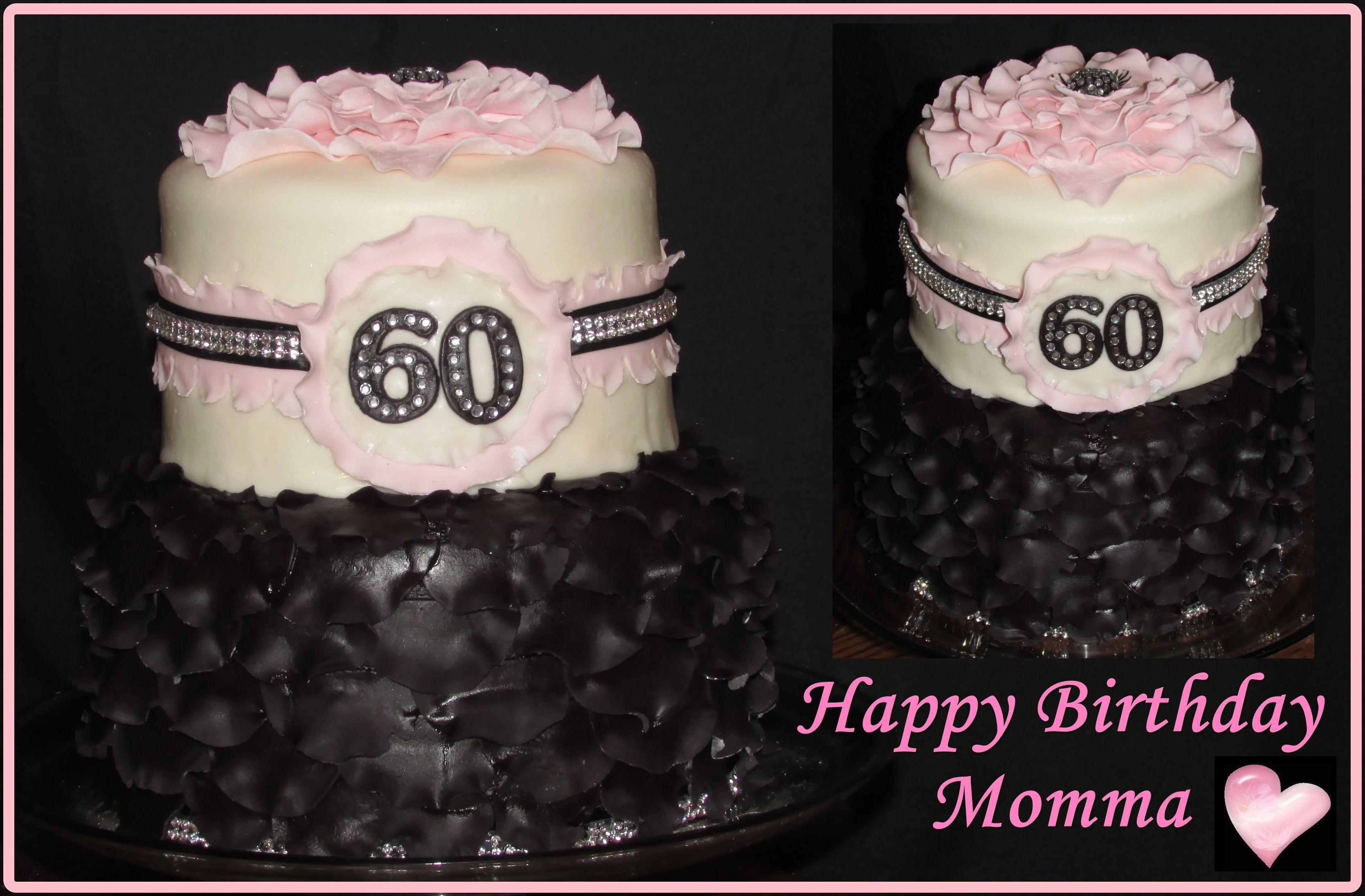 Ruffles And Bling Birthday Cake Cakes Pinterest Birthday Cakes