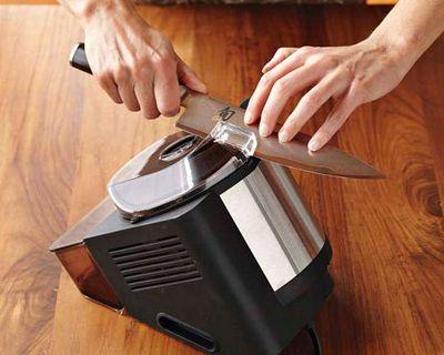One Good Find Shun Professional Electric Whetstone Knife