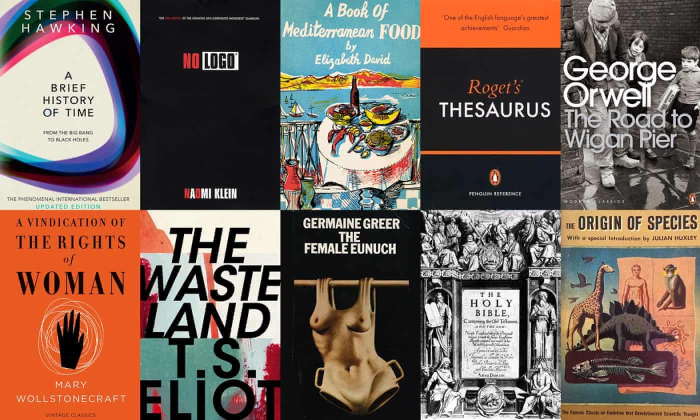 The 100 Best Nonfiction Books Of All Time The Full List