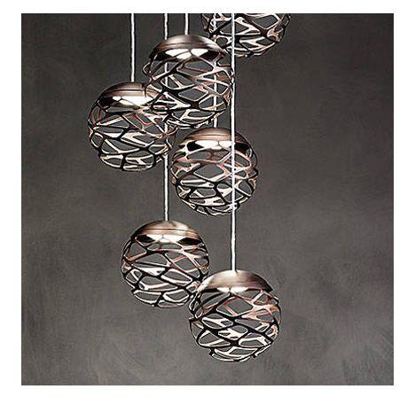 Kelly Cluster Led Pendant By Studio Italia Design At Lumens Com Lighting Inspiration Chandelier Lighting Luxury Lighting