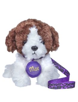 Max Brown White Dog For Doll American Girl Doll Crafts