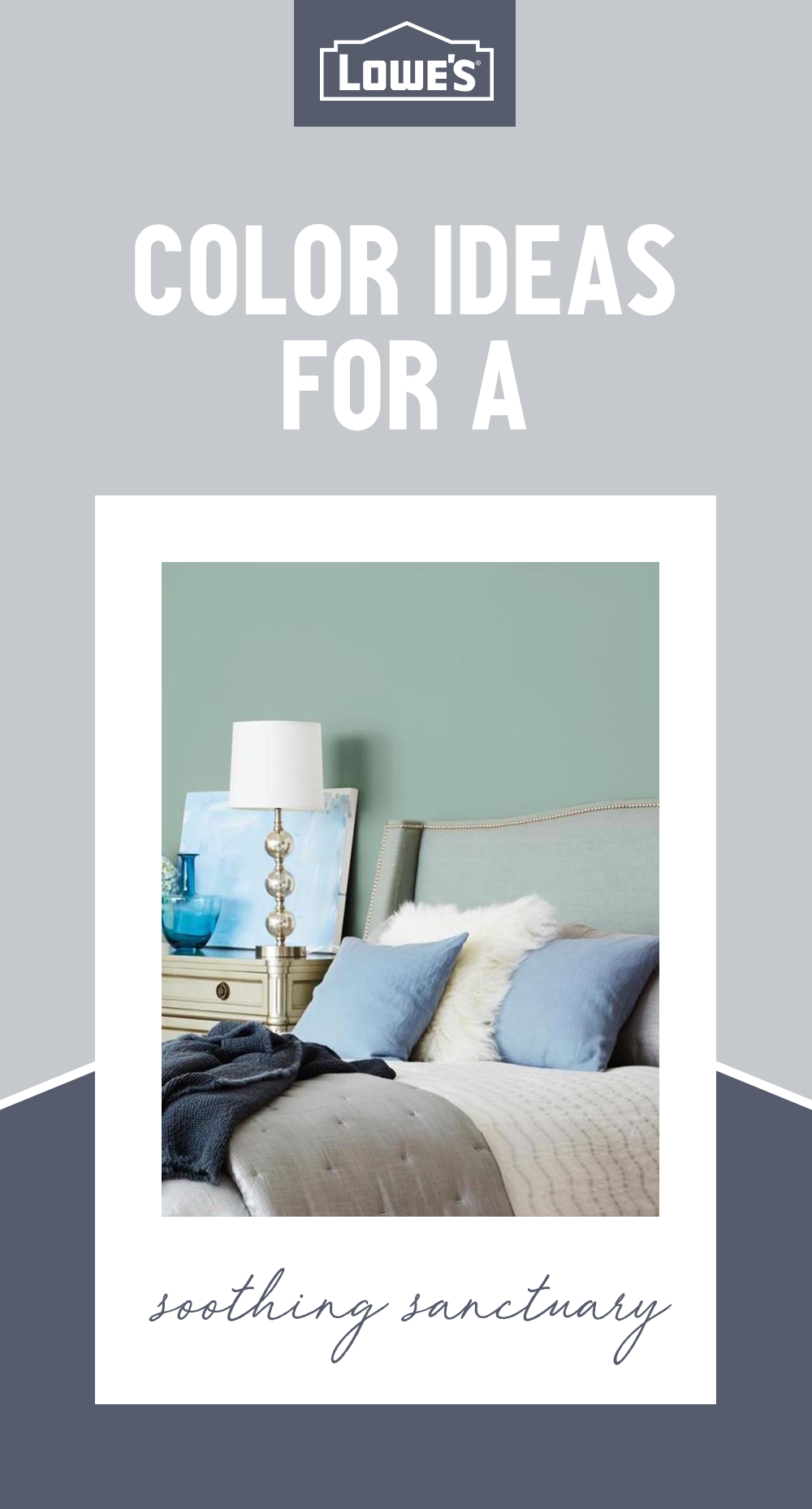 Looking For Just The Right Hue Try Desert Lake From Hgtv