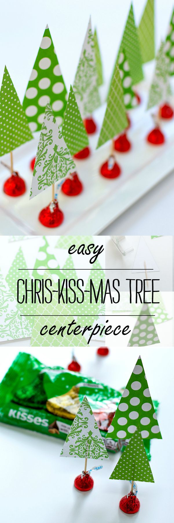 Christmas Crafts with Kids Holiday centerpieces
