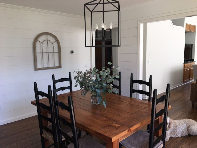 Shiplap Dining Room Eat In Kitchen Lantern Pendant Amanda Rapp Magnificent Kitchen Lanterns Design Inspiration