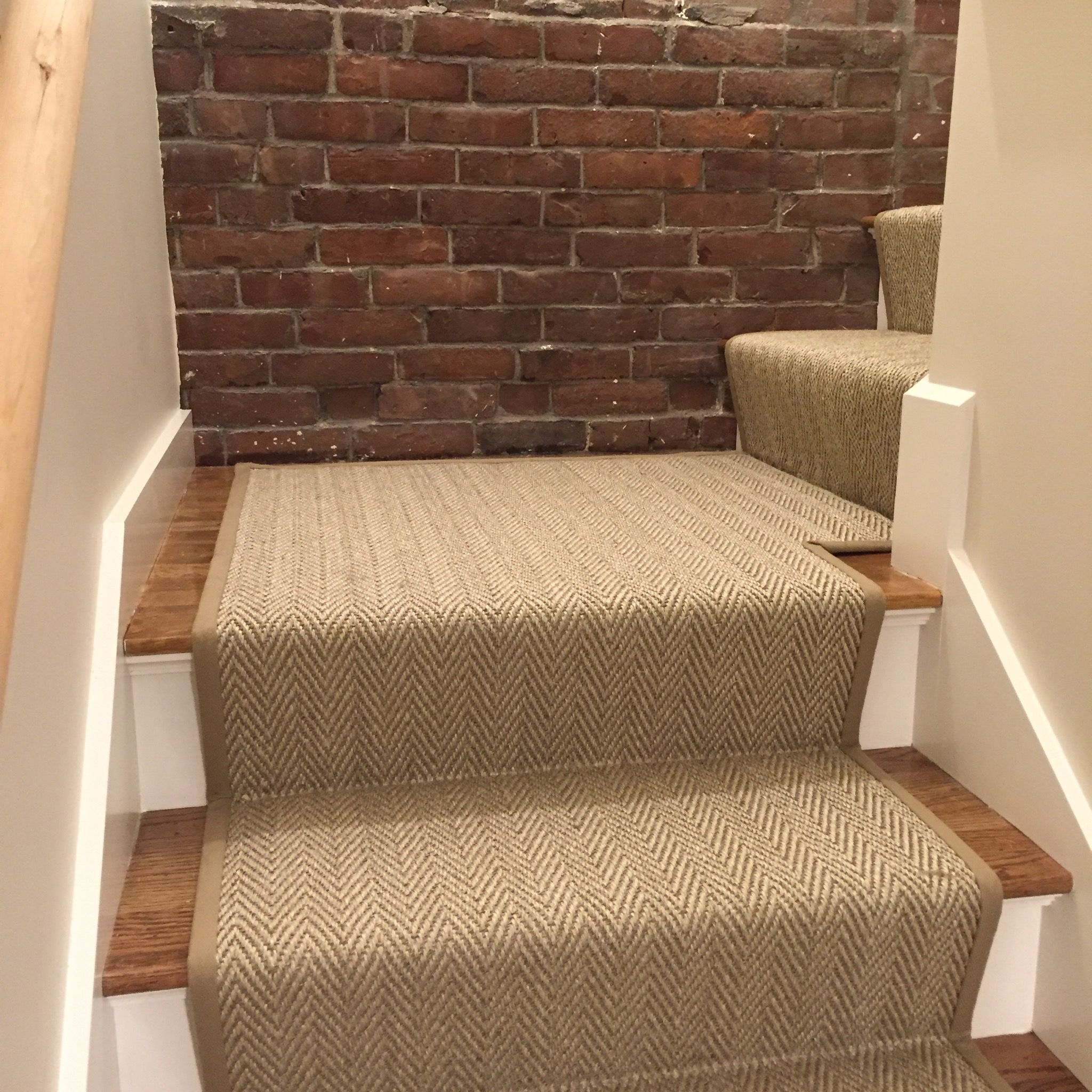 Best Loving This Custom Herringbone Stair Runner We Fabricated 400 x 300