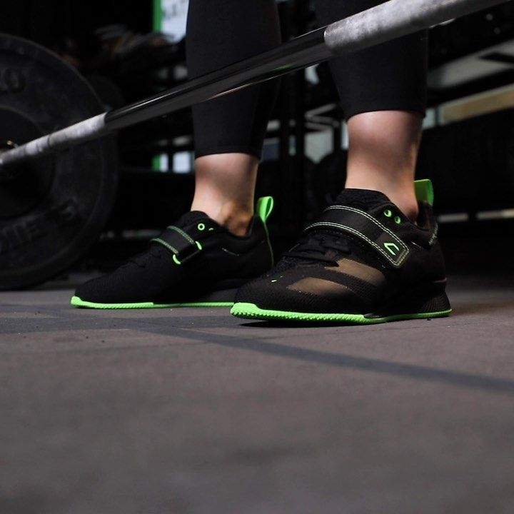 Small Feet, Big Lifts. The WIT X @adidas AdiPower 2. Enhanced comfort and supreme stability will tak...