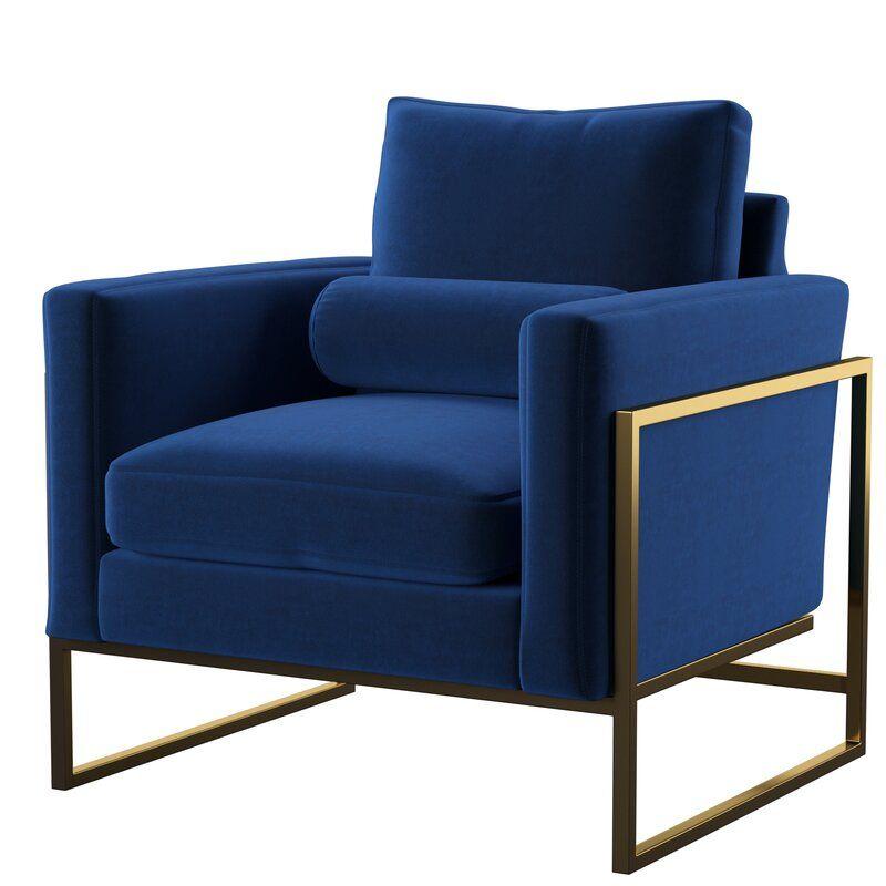 Blue Velvet Chairs, Club Chairs