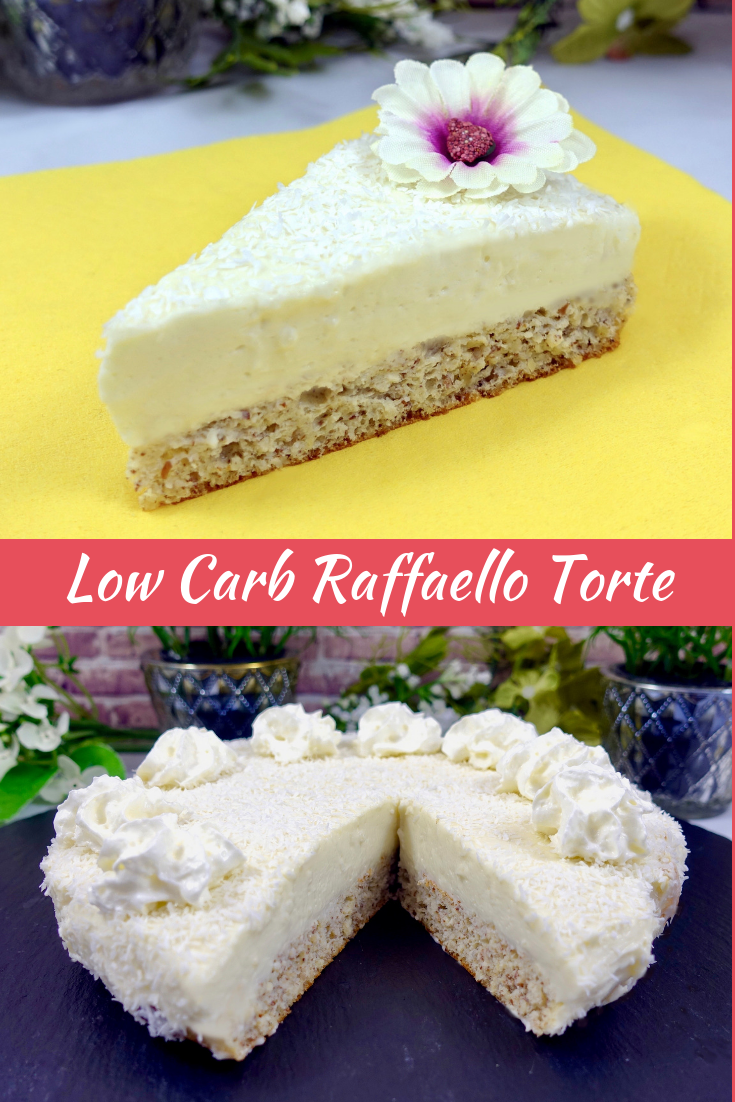 Low Carb Raffaello Torte