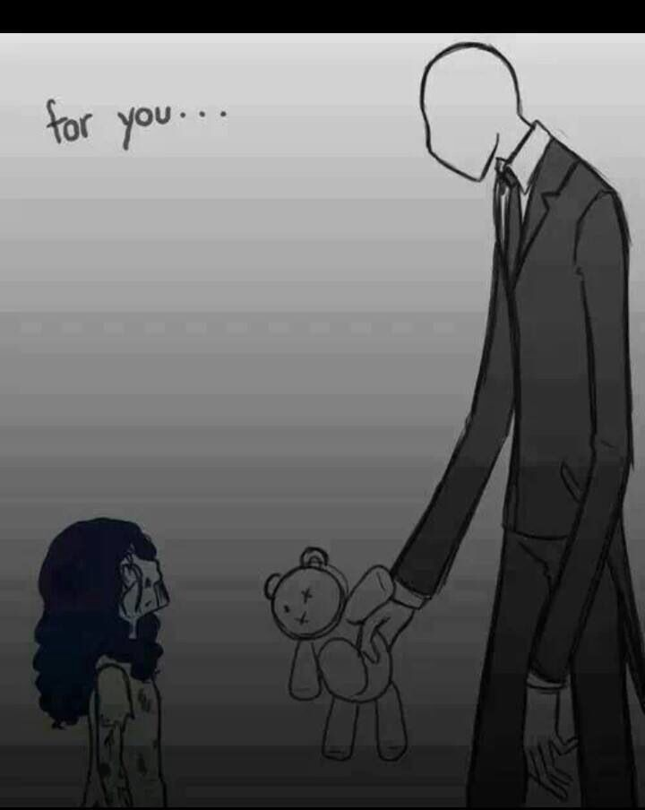 Slenderman and Sally | Creepy Pasta | Creepypasta, Creepypasta