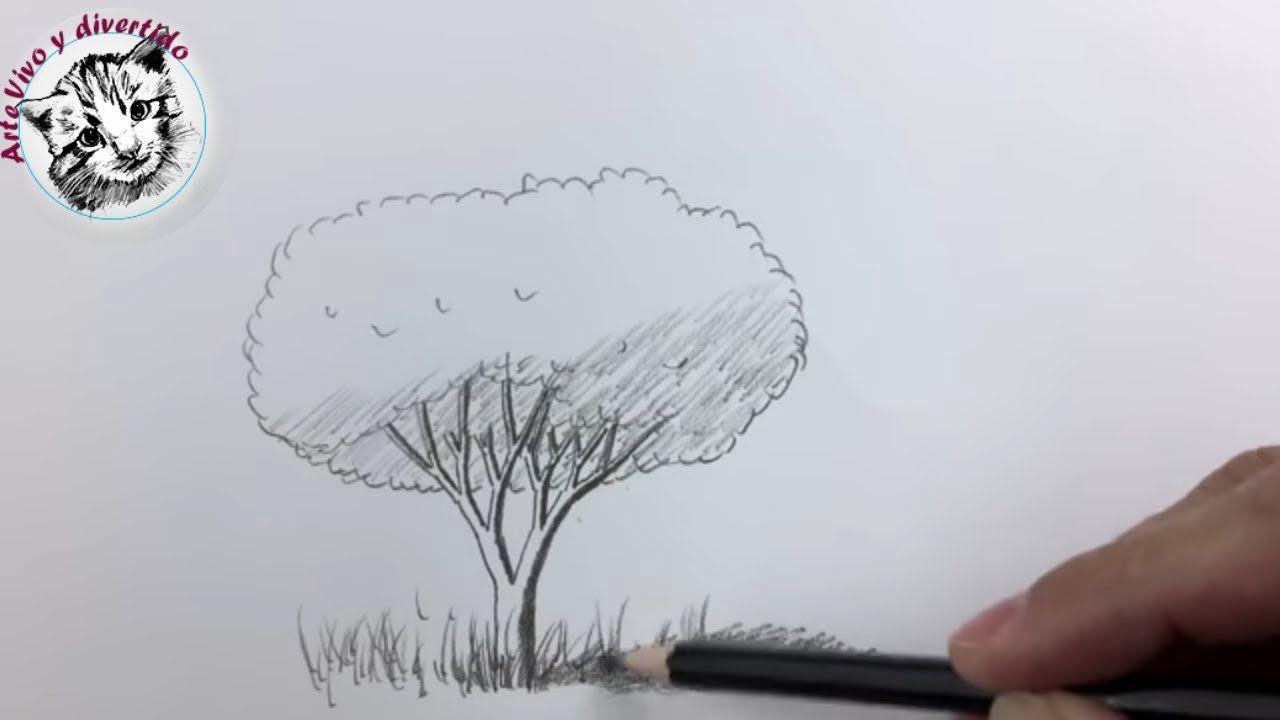 Como Dibujar Un Arbol Realista Para Ninos Y Principiantes Remake 4 Aniv Como Dibujar Como Dibujar Arboles Tutorial De Dibujo