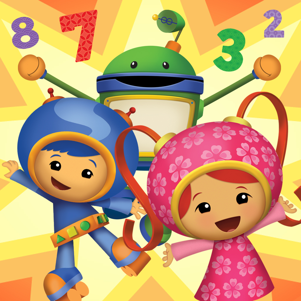 Team Umizoomi: Geo, Milli and Bot | Equipo Umizoomi | Pinterest