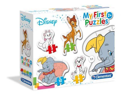 Moje Pierwsze Puzzle 3 6 9 12 El Klasyczne Postacie Disneya Disney Puzzles Disney Puzzles