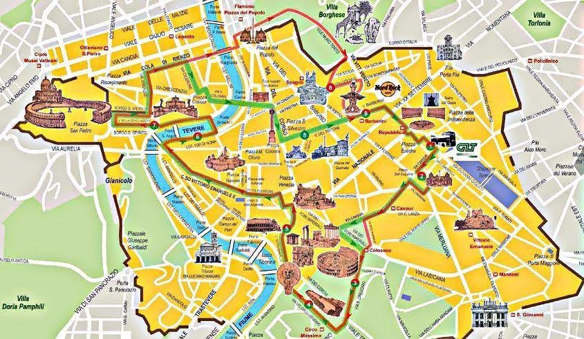 Mapa De Roma Turistico.Mapa Turistico Roma Pesquisa Google Em 2019 Mapa