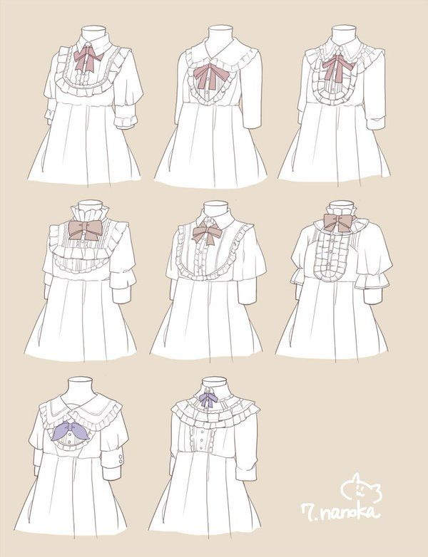 Clothing Refence Fashion Magazinesreference On Clothes: Colar - Victorian Style Shirt Reference