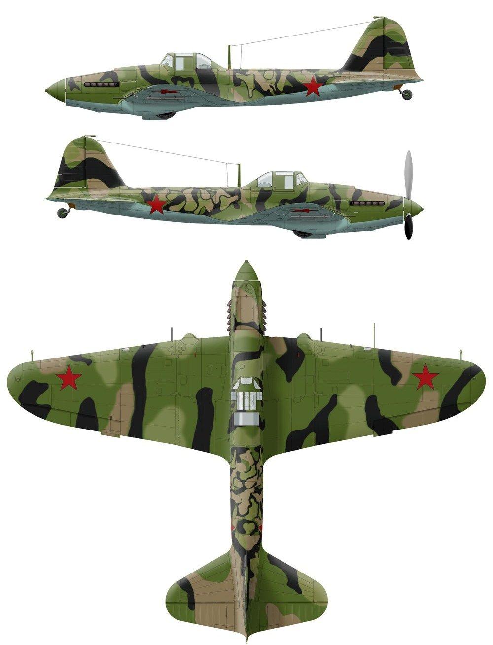 Ил-2 из 430 ШАП. аэродром в Шаталово 23-24 июля 1941 года ...