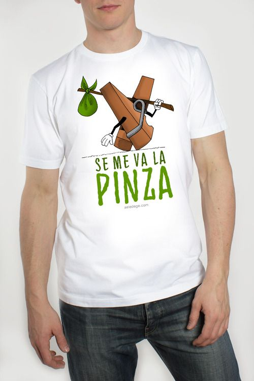 ¿SE TE VA LA PINA?   Pues esta camiseta está hecha para ti... ¡Y bolsas y mochilas! - Todas las encontrarás en la ALdG Shop de Qstoms