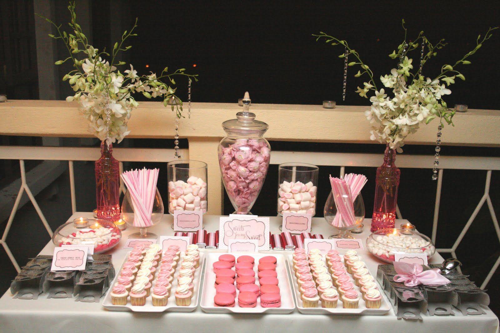 Candy Buffet Preparation